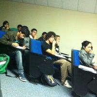 Photo taken at Sala 202 by Javiera C. on 4/12/2012