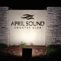 Photo taken at April Sound Country Club by JmMster J. on 8/20/2012