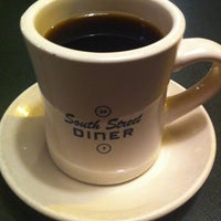 Photo taken at South Street Diner by Martha K. on 5/6/2012