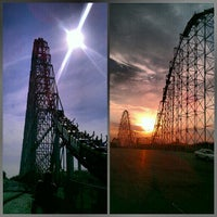 Photo taken at Worlds of Fun by Robby L. on 8/20/2012