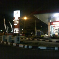 Photo taken at SPBU Pertamina by Ari Matahari N. on 8/14/2012