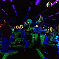 Photo taken at Monster Mini Golf by Abeer S. on 4/21/2012