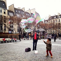 Photo taken at Place Georges Pompidou by Yanique F. on 2/28/2012