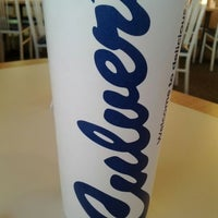 Photo taken at Culver's by Josh P. on 2/18/2012