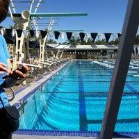 Photo taken at Palm Desert Aquatic Center by Emily V. on 4/21/2012