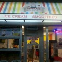 Photo taken at Mama's Ices And Ice Cream by Andrew on 9/3/2012