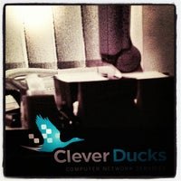 Photo taken at Clever Ducks by Michael B. on 6/21/2012