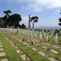 Photo taken at Fort Rosecrans National Cemetery by Brandy L. on 5/28/2012
