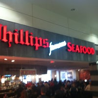 Photo taken at Phillips Famous Seafood by Pete L. on 2/28/2012