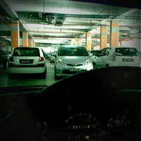 Photo taken at 1Borneo Hypermall Car Parking by Edward E. on 4/27/2012