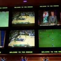Photo taken at The Mirage Race & Sports Book by Matt C. on 3/10/2012