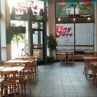 Photo taken at King Taco Restaurant by John V. on 8/21/2012