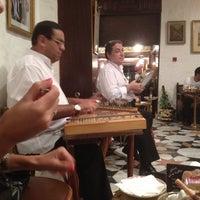 Foto diambil di Naguib Mahfouz Cafe oleh N ❤️ pada 8/27/2012