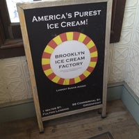 Photo taken at Brooklyn Ice Cream Factory by Andrew F. on 5/20/2012