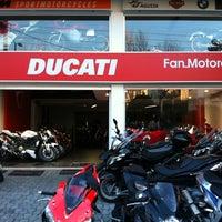 Photo taken at Ducati Fan Motorcycles by Gregy K. on 2/8/2011
