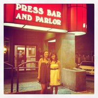 Photo taken at The Press Bar and Parlor by Vida B. on 5/26/2012