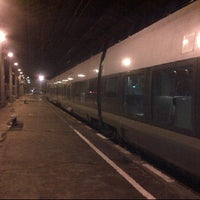 Photo taken at Gare SNCF d'Évian-les-Bains by Judith V. on 2/16/2012