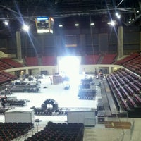 Photo taken at Rimrock Auto Arena by Cody B. on 3/7/2012