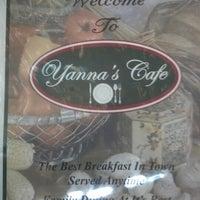 Photo taken at Yanna's Cafe by Bryan D. on 8/12/2012