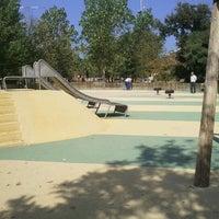 Photo taken at Parc d'Odessa by Jose Manuel E. on 10/1/2011