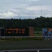 Photo taken at Presque Isle Downs & Casino by Patrick W. on 9/10/2011
