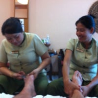 Photo taken at Herbs Massage by Tristan v. on 9/10/2011
