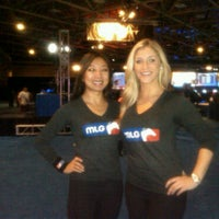 Photo taken at The MLG Booth  by Singlefied.com on 4/3/2011