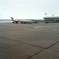 Photo taken at Quad City International Airport (MLI) by Tammy F. on 3/3/2012