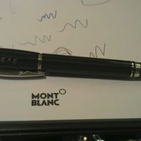 Photo taken at Montblanc Boutique by Rod v. on 3/25/2012