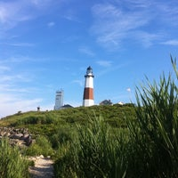 Photo taken at Montauk Point Lighthouse by Tanya B. on 7/16/2011