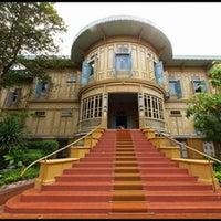 Photo taken at Vimanmek Mansion by Stephen Q. on 1/5/2012