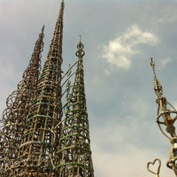 Photo taken at Watts Towers of Simon Rodia State Historic Park by Sean M. on 3/29/2012