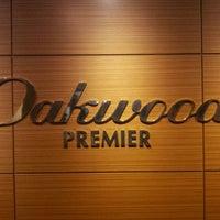Photo taken at Oakwood Premier Coex Center, Seoul by Husky S. on 11/26/2011