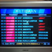 Photo taken at Immigration Office Arrivals Hall by Ultraman™ ♣ Z. on 6/12/2012