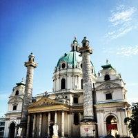 8/22/2012 tarihinde Bruno F.ziyaretçi tarafından Karlskirche'de çekilen fotoğraf