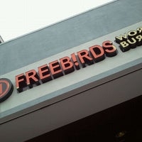 Photo taken at Freebirds World Burrito by SanAngelMole on 11/10/2011