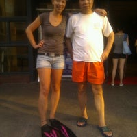Photo taken at 格致体育活动中心 Gezhi Sports Activities Center by Sumi R. on 7/22/2012