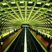 Photo taken at Gallery Place - Chinatown Metro Station by Blaine S. on 6/2/2012