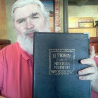 Photo taken at El Picante Mexican Restaurant by Vickie S. on 1/28/2012