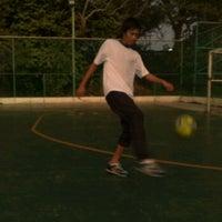 Photo taken at Futsal Kg. Baru Sg. Ara by Azroy G. on 9/8/2011