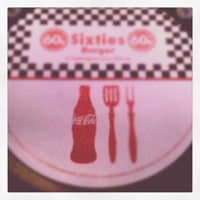 Photo taken at Sixties Burger by Sergio S. on 3/10/2012