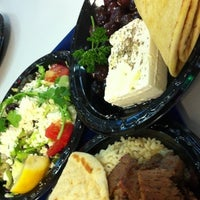 Photo taken at The Mad Greek Cafe by Debbie S. on 5/9/2011