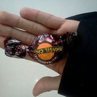 Photo taken at Chocolates Brasil Cacau by Alexandre S. on 10/19/2011