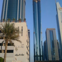 Photo taken at Rose Rayhaan by Rotana by Johannes V. on 3/28/2011