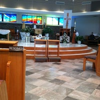 Photo taken at Our Lady of Fatima Catholic Church by Carissa B. on 5/22/2012