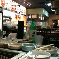 Photo taken at Hwang Jang Goon Bi Hwah Ssam by Jennath Nice S. on 10/16/2011