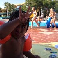 Photo taken at Turan Prince Aquapark by Nurullah S. on 9/9/2012