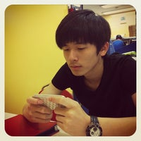 Photo taken at Domino's pizza 중계점 by Lucas J. on 6/16/2012