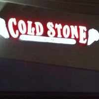 Photo taken at Cold Stone Creamery by Jocelyn T. on 1/15/2012