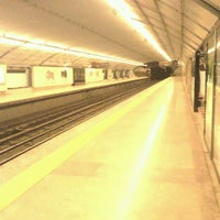 Photo taken at Metro Campo Pequeno [AM] by André B. on 8/15/2011